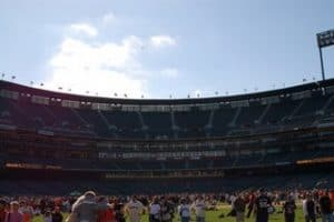 Cheers from Centerfield!