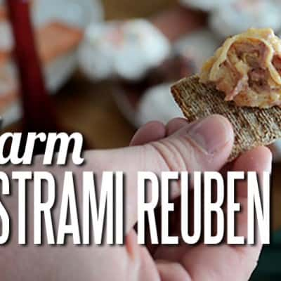 Warm Pastrami Reuben Dip