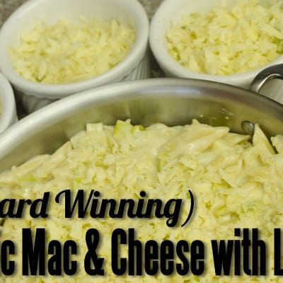 (Award Winning) Mac & Cheese with Leeks