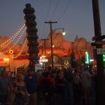 Radiator Springs in the evening