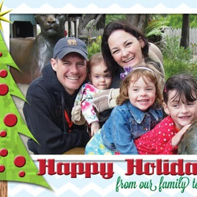Free Holiday Card Printable!