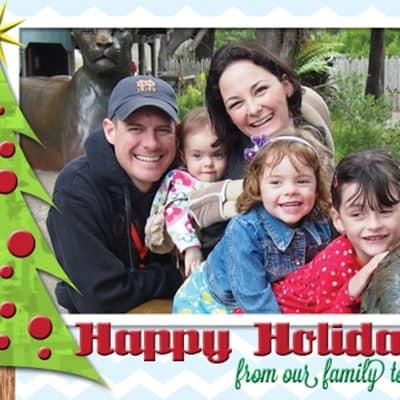 Free Holiday Card Printable!