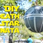 Death Star Pinata – Star Wars Birthday Party