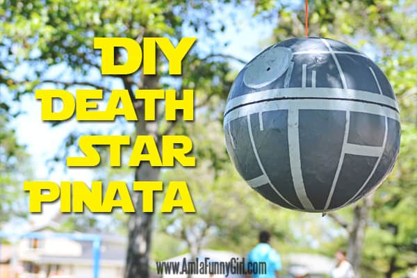 This is the Death Star Piñata tutorial you were looking for