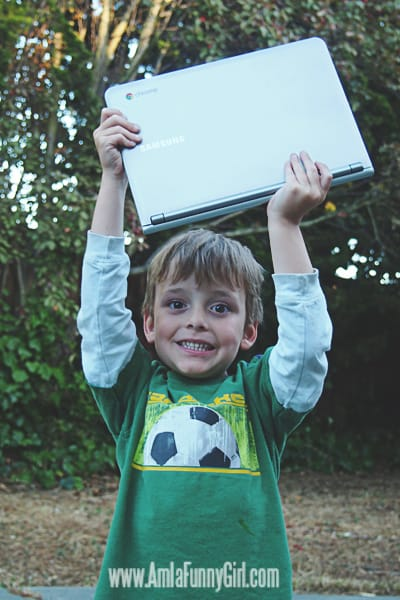 Smasung Chromebook Overhead