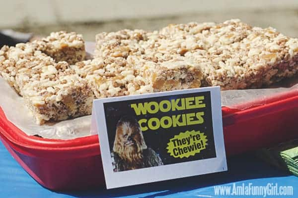 Star Wars Party Food - Wookiee Cookies