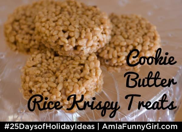 Cooke Butter Rice Krispy Treats