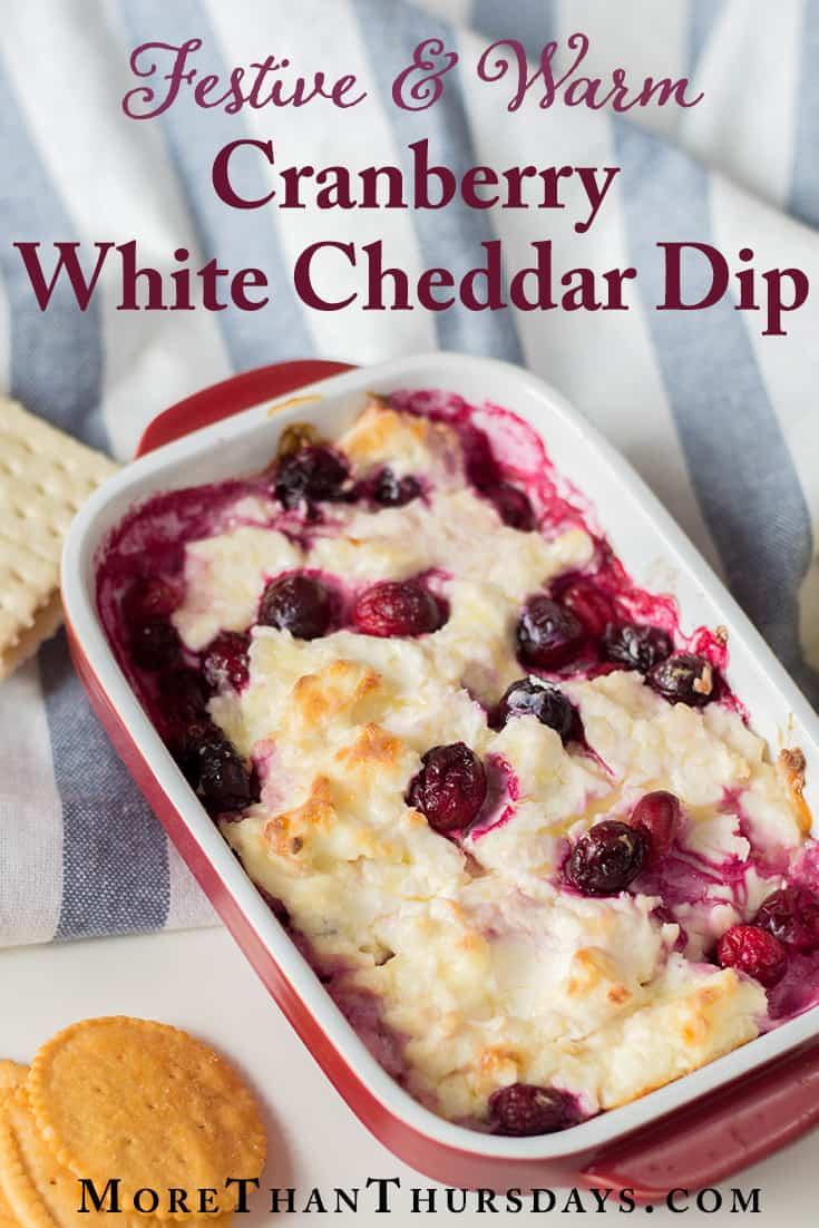 Cranberry cheddar dip