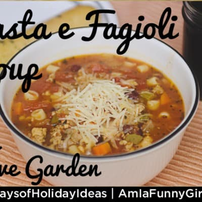 Pasta e Fagioli soup recipe: Like Olive Garden's, but better!