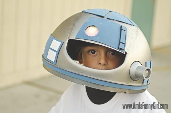 r2d2 costume helmet