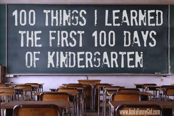 100 days of kindergarten