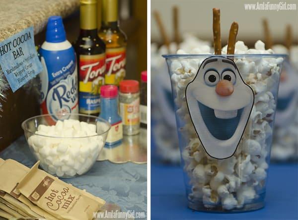 #DisneySide Frozen HotCocoa Popcorn
