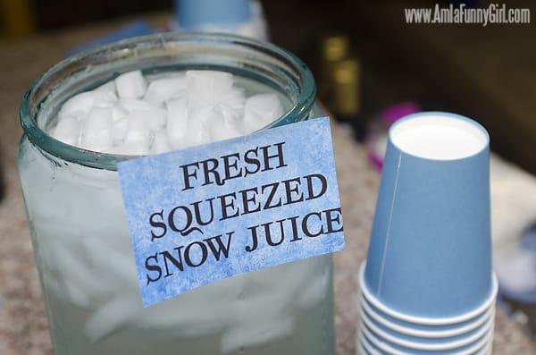 #DisneySide Frozen Snow Juice