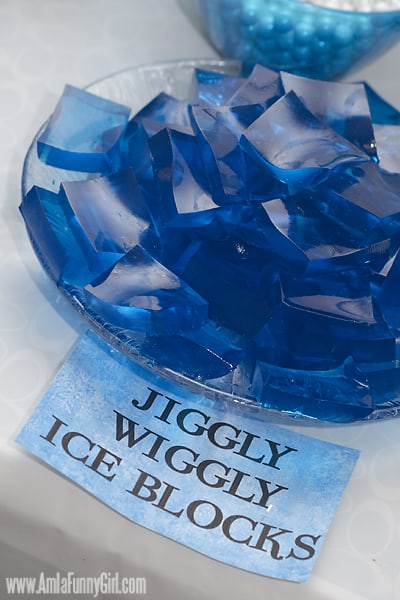 #DisneySide Frozen ice block jello