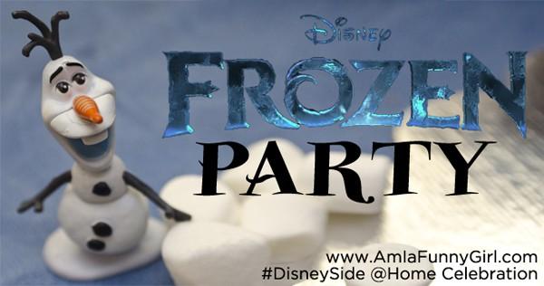 #DisneySide Frozen party