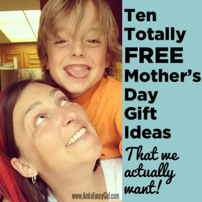 Totally free Mother's Day gift ideas