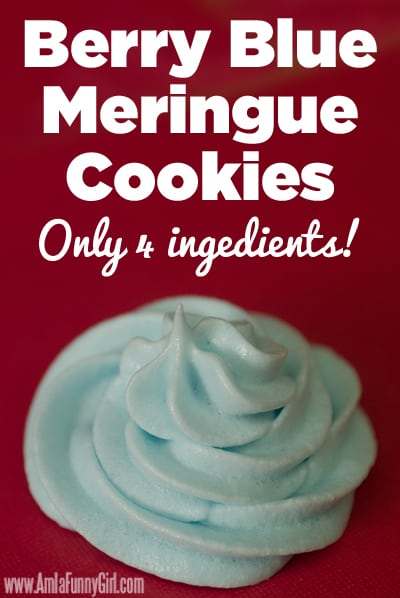 berry blue meringue cookies with jello