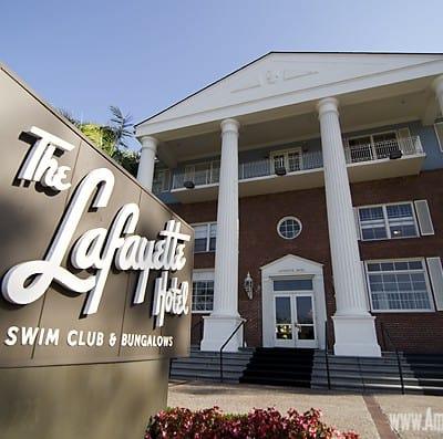 Lafayette Hotel Swim Club & Bungalows – San Diego, CA Hotel #familytravel