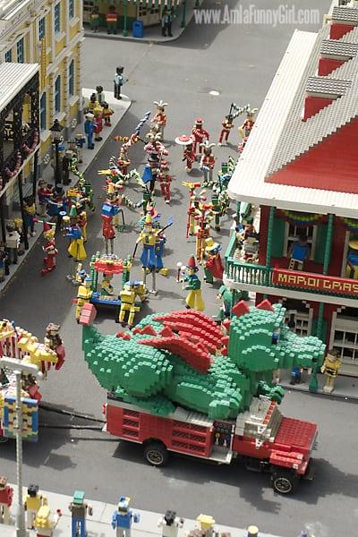 miniland lego parade new orleans legoland