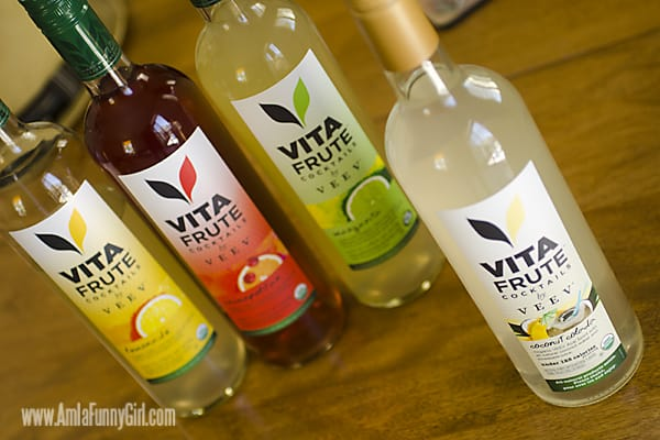 4 bottle VitaFrute cocktails