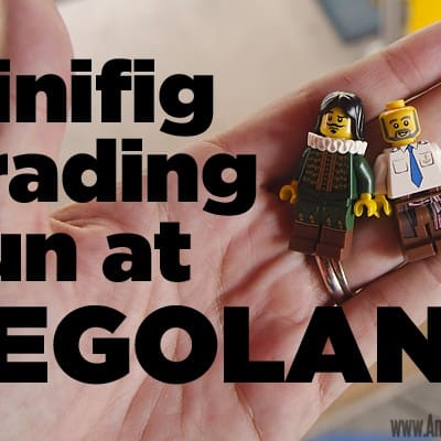 So fun: Minifig Trading at Legoland