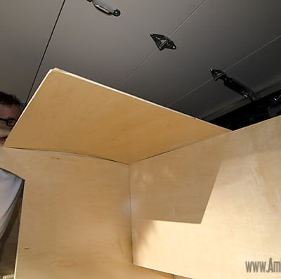 Homebuilt Teardrop Trailer 5: Interior Ceiling & Fan