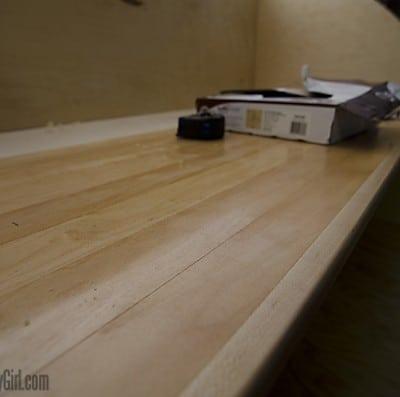 Homebuilt Teardrop Trailer 3: Galley Counter & Flooring