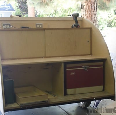Homebuilt Teardrop Trailer 9: Galley Design (and Redesign)