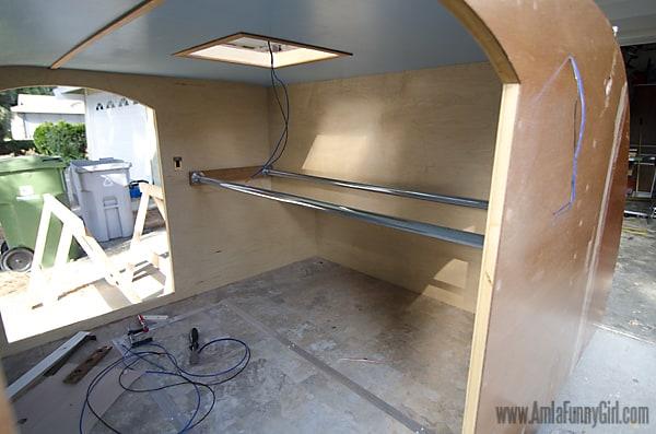 01 teardrop trailer hammock poles
