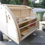 Homebuilt Teardrop Trailer 7: Hatch Construction
