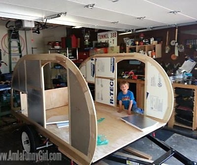Homebuilt Teardrop Trailer 4: Insulation