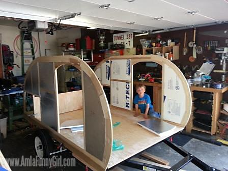 01 teardrop trailer rough fit insulation