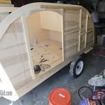 Homebuilt Teardrop Trailer 2: Walls & Interior Skin