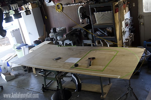 02 Teardrop Trailer template plywood