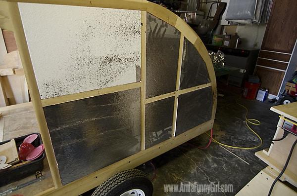 02 teardrop trailer fitting insulation