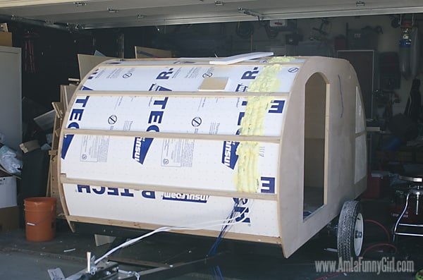 04 teardrop trailer insulation roof