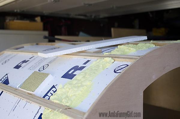 05 teardrop trailer insulation roof wiring