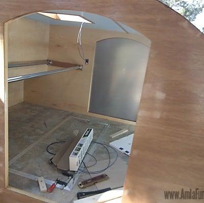Homebuilt Teardrop Trailer 10: Exterior Aluminum Skin