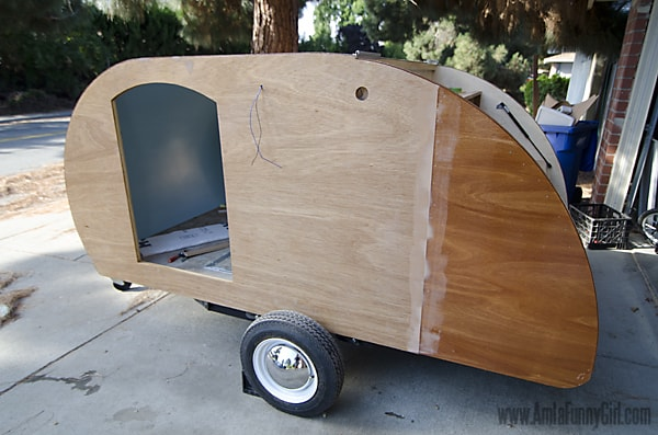 07 teardrop trailer wood skin sealant