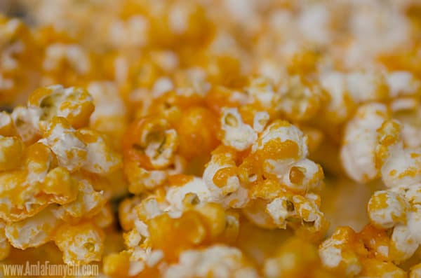 Color Popcorn Orange Close up