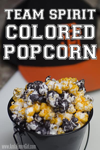 Color Popcorn using Candy Melts and Jell-O