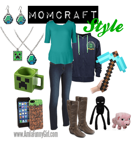 Minecraft style for moms
