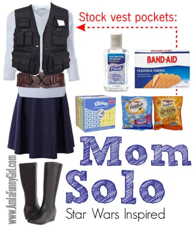 Mom solo Star wars costume