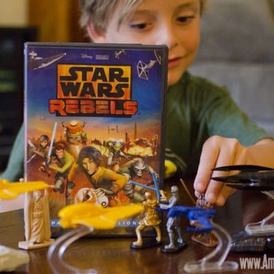 Expanding our Star Wars universe with Star Wars Rebels #SparkRebellion