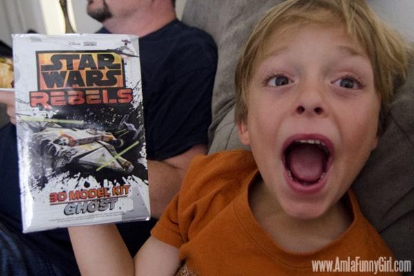 Star Wars Rebels Ghost model kit #sparkrebellion #shop