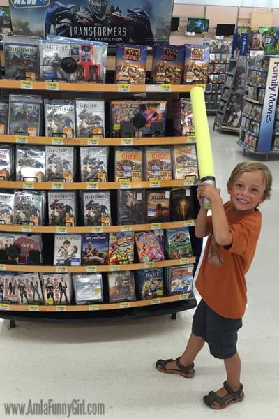 Star Wars Rebels instore at Walmart #sparkrebellion #shop