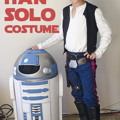 Han Solo Costume #DIY #Halloween #StarWars