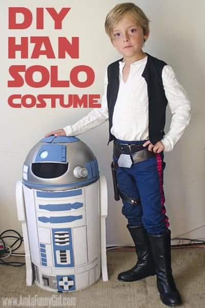 Get your swagger on in our easy DIY Han Solo costume