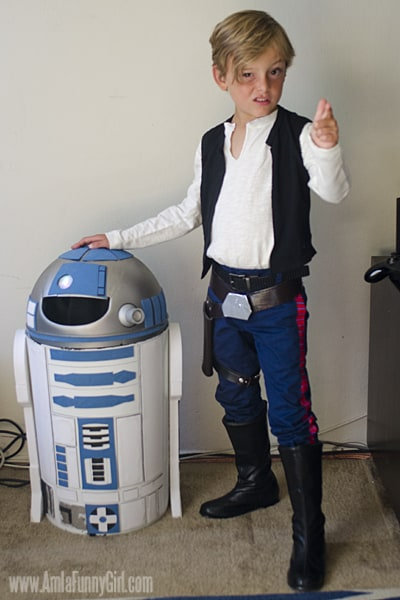 han solo sneer  sc 1 st  More Than Thursdays & Han Solo Costume #DIY #Halloween #StarWars - More Than Thursdays