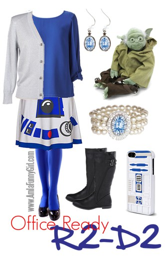 office-ready R2-D2 costume